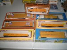 Lot of 7 HO scale Union Pacific Rolling Stock in Boxes