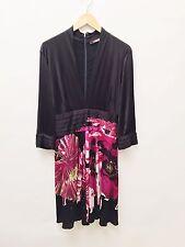 Roberto Cavalli Size 46 Multi Color Floral Dress