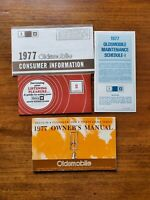 1977 OLDSMOBILE DELTA 88 Owner's Manual, Consumer Info, Maintenance Sched & More
