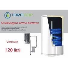 Scaldabagno Termo-Elettrico ST Verticale LT120 con Serpentino