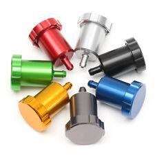 Universal CNC Motorrad Bremsflüssigkeitsbehälter Alu Bremse Kupplung Öl Behälter