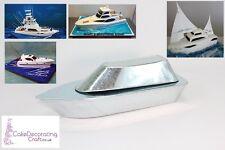 3D Novelty Cake Baking Tins and Pans | Yacht Boat Cake Shape