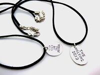 Faux Suede / Leather Cord Necklace & Zombie Inspired Pendant - Mens,Womens, Boys