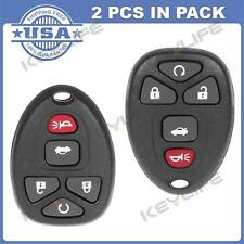 2 New Remote Start Keyless Entry Key Fob Transmitter Clicker Alarm for 22733524