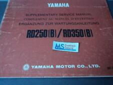 Yamaha RD 250 (B) RD 350 (B) Werkstatthandbuch Reparaturanleitung Handbuch YB3