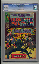 Tales of Suspense #78 CGC 9.0 VF/NM Unrestored Marvel Iron man Captain America