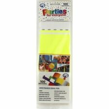 TYVEK WRISTBAND FLURO YELLOW COLOUR PACK OF 100 EVENT PARTY ENRTY IDENTIFICATION
