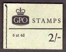 NP33 1969 janvier 4d CB/CB 2/- machin Pre decimal livret