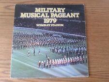 Armée Benevolent Fund-Militaire Musique défilé 1979-Stade de Wembley deux LPS