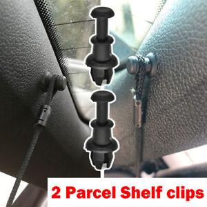 2 For Audi A1 A3 8P 8V Q2 Q3 Q5 SQ5 Boot Parcel Shelf String Clips Hook Holder