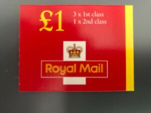 Royal Mail GB Elizabeth II MNH £1 booklet FH 44a cat val £7