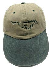 FORD MUSTANG vintage khaki / green adjustable cap / hat