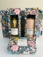 🌷MORRIS & Co🌷 Pink Clay & Honeysuckle Gift Set 4 Piece Lotion Soap Wash Clutch