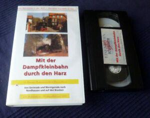 VHS EK Eisenbahn Dampfkleinbahn Harz Gernrode Nordhausen Brocken Bahnromantik