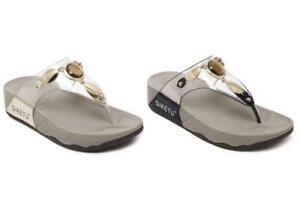 Ladies Women's Fitflop Sandals Fit Flop US Mule Summer Sandals Toe Post Size new