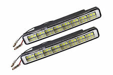 2pcs x 24 LED Xenon White Front DRL Daytime Running Lights Fog Lamps E4 029-2