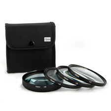 Jackar 72mm Close-Up Filter Set (+1,2,4,10) For Canon Nikon Sony Olympus Pentax