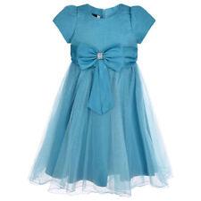 Robes habillée à manches courtes pour fille de 3 à 4 ans