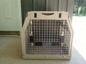 """Nylabone Large Collapsible Folding Dog Pet Crate Cage Carrier 27""""X 20""""x19"""""""