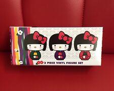 Hello Kitty Kokeshi (40th Anniversary) LE 3 Piece Vinyl Figure Set (HK1)