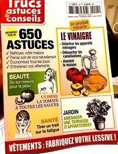TRUCS*ASTUCES &CONSEILS=650*Beauté*Santé*TOMATE*JARDIN**VINAIGRE PRODUIT MIRACLE