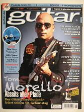 GUITAR MAGAZINE 2014/6 NR. 169 - TOM MORELLO PINK FLOYD LES PAUL CUSTOM INCL. CD