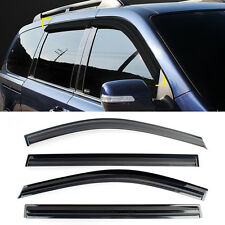 Smoke Window Sun Vent Visor Rain Deflector Guards For KIA 06-14 Sedona Carnival
