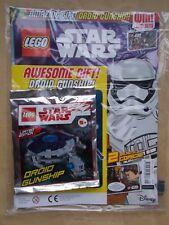 MINT UK EDITION 29 LEGO STAR WARS MAGAZINE #25 + LEGO SET TOY GIFT DROID GUNSHIP