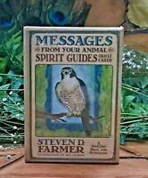 Messages From Your Animal Spirit Guides Cards (Oracle Cards) by Steven Farmer Ph