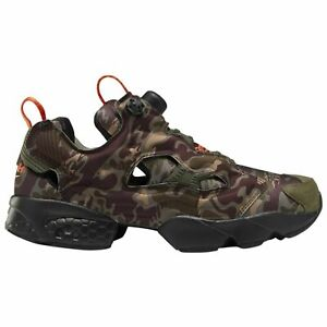 Reebok Instapump Fury OG Camo Men's Shoes Earth Sand Army Green DV6962