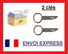 clefs d'extraction de démontage façade autoradio stereo SEAT LEON 2000 - 2005!