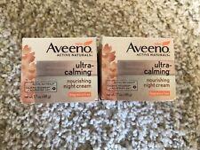 Aveeno Naturals Ultra-Calming Nourishing Night Cream - 1.7 oz Each / Pack of 2