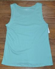 Croft & Barrow Tank Top Sleeveless Tee Brand New with Tags Color is Cascade