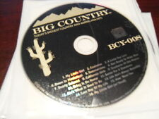 BIG COUNTRY KARAOKE BCY-008 TODAYS BIGGEST COUNTRY & AMERICANA HITS CD+G 16 TRX