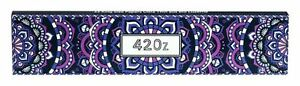 4x 420z King Size Slim ultra thin violett Zigarettenpapier Blättchen Rolling