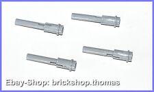 Lego 4 x Star Wars Geschosse Stab grau - 61184 - Technic Bar Pin gray - NEU/NEW