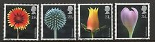 GB 1987 Flower Photographs fine used set stamps