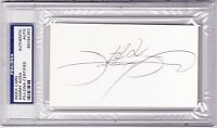 SAMMY SOSA Signed Autographed Baseball 3x5 Index Card PSA/DNA Cubs White Sox