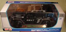 Maisto 1/18 Jeep Rescue Concept SWAT new in box