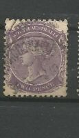 South Australia Queen Victoria  Two Pence Briefmarken Old Stamps Timbres Sellos