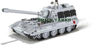 Cobi 3036 - World of Tanks - WWII German Tank E 100 - New