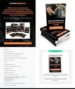 Der Ultimative Heimtrainings Plan  - eBook,  PLR Lizenz Komplettpaket