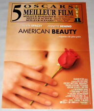 AmeriCan Beauty Kevin Spacey Sam Mendes Mena Suvari Small French Poster