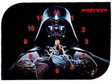 horloge pendule murale  star wars prénom texte au choix réf F 09