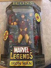 Marvel Legends Iron Man Icons Unmasked ToyBiz 2006
