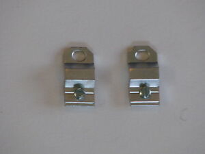 Set Screw Hanger, Metal Aluminum Picture Frame Hardware, Pkg of 10, 24, 50.