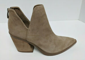 Steve Madden Alyse Ankle Boots, Tan Suede, Women's 8 M