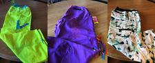 LOT - 3 pair Zumba cargo pants NWT Yellow Tart, Purple, Dazzling Blue XXL