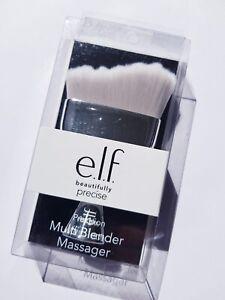 ELF Beautifully Precise Multi Blender Massager Brush Silver / Brand New Boxed