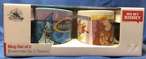 Oh My Disney Hercules Mugs Set Of 2 NEW